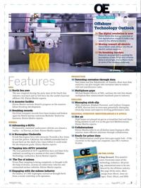 Offshore Engineer Magazine, page 1,  Jun 2017