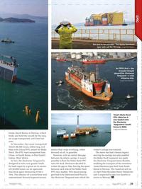 Offshore Engineer Magazine, page 37,  Jun 2017