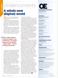Offshore Engineer Magazine, page 6,  Jun 2017
