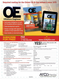 Offshore Engineer Magazine, page 79,  Jun 2017