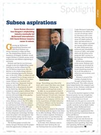 Offshore Engineer Magazine, page 85,  Jun 2017