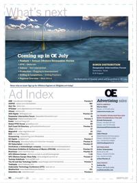 Offshore Engineer Magazine, page 88,  Jun 2017