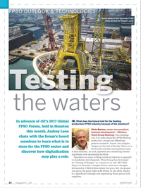 Offshore Engineer Magazine, page 18,  Aug 2017