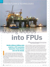 Offshore Engineer Magazine, page 24,  Aug 2017