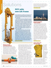 Offshore Engineer Magazine, page 58,  Aug 2017