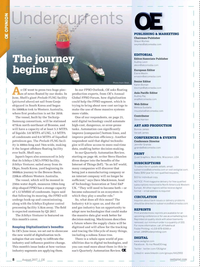 Offshore Engineer Magazine, page 6,  Aug 2017