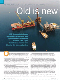 Offshore Engineer Magazine, page 22,  Nov 2017