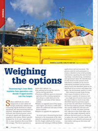 Offshore Engineer Magazine, page 48,  Nov 2017
