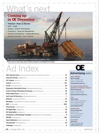 Offshore Engineer Magazine, page 64,  Nov 2017