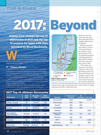 Offshore Engineer Magazine, page 16,  Dec 2017