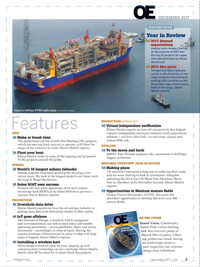 Offshore Engineer Magazine, page 1,  Dec 2017
