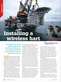 Offshore Engineer Magazine, page 46,  Dec 2017