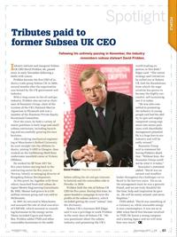 Offshore Engineer Magazine, page 61,  Dec 2017