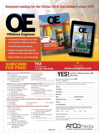 Offshore Engineer Magazine, page 63,  Dec 2017