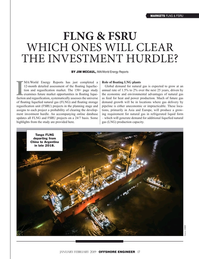 Offshore Engineer Magazine, page 17,  Jan 2019