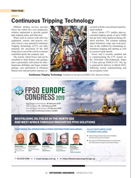 Offshore Engineer Magazine, page 56,  Jan 2019