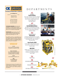 Offshore Engineer Magazine, page 4,  Jan 2019