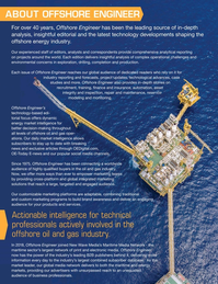 Offshore Engineer Magazine, page 58,  Jan 2019