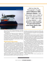 Offshore Engineer Magazine, page 31,  Mar 2019
