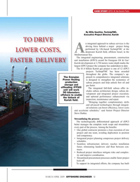 Offshore Engineer Magazine, page 51,  Mar 2019
