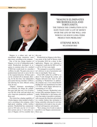 Offshore Engineer Magazine, page 56,  Mar 2019