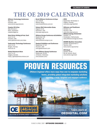 Offshore Engineer Magazine, page 63,  Mar 2019
