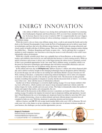 Offshore Engineer Magazine, page 7,  Mar 2019