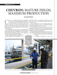 Offshore Engineer Magazine, page 8,  May 2019