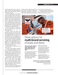 Offshore Engineer Magazine, page 11,  May 2019
