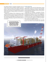 Offshore Engineer Magazine, page 20,  May 2019