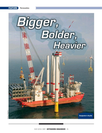 Offshore Engineer Magazine, page 23,  May 2019