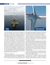 Offshore Engineer Magazine, page 26,  May 2019