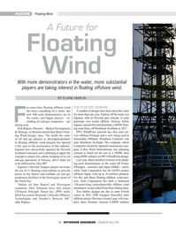 Offshore Engineer Magazine, page 28,  May 2019