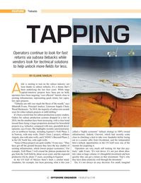 Offshore Engineer Magazine, page 32,  May 2019