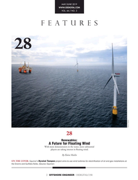 Offshore Engineer Magazine, page 2,  May 2019