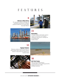 Offshore Engineer Magazine, page 3,  May 2019