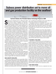 Offshore Engineer Magazine, page 55,  May 2019
