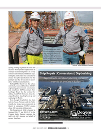 Offshore Engineer Magazine, page 31,  Jul 2019