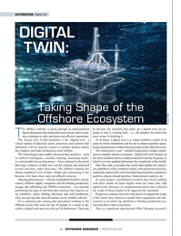 Offshore Engineer Magazine, page 46,  Jul 2019