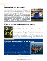 Offshore Engineer Magazine, page 58,  Jul 2019