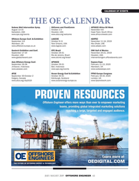 Offshore Engineer Magazine, page 63,  Jul 2019