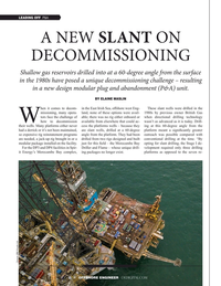 Offshore Engineer Magazine, page 8,  Sep 2019