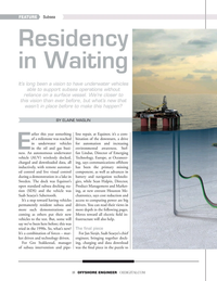 Offshore Engineer Magazine, page 18,  Sep 2019