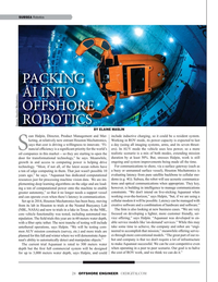 Offshore Engineer Magazine, page 24,  Sep 2019