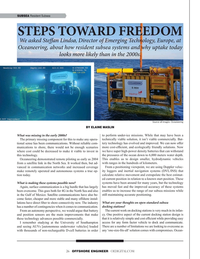 Offshore Engineer Magazine, page 26,  Sep 2019