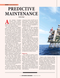 Offshore Engineer Magazine, page 46,  Sep 2019