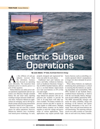 Offshore Engineer Magazine, page 54,  Sep 2019