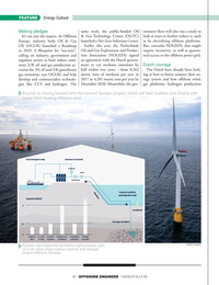 Offshore Engineer Magazine, page 10,  Nov 2019