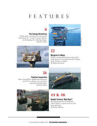 Offshore Engineer Magazine, page 3,  Nov 2019
