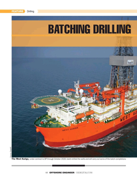 Offshore Engineer Magazine, page 48,  Nov 2019